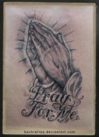 pray for me by buchtattoo
