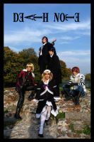 Deathnote cosplay group Lucc09 by LocoAddicted