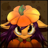 My OC is a Pumpkin! by NyuNimu
