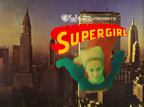 Supergirl Skyline Poster #3 by WONTV5