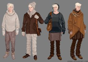 clothes drawing practice by gremo