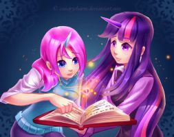 Casting a Spell by WineChan
