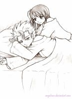 Bleach: Hitsugaya and Hinamori by AngelNess