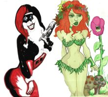Harley and Ivy 2 by losman126