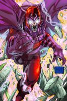 Enter Magneto!! colors by hanzozuken