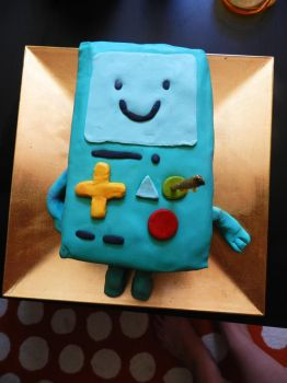 Beemo cake by Aranel-Inglorion