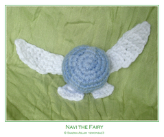 Crochet: Navi the Fairy by simonsaz3