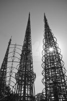 Watts Towers 02 by piratesofbrooklyn