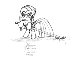 Pinkamina's Sword by leadhooves
