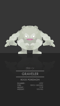 Graveler by WEAPONIX