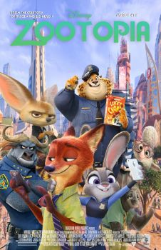 Zootopia Movie Poster Project For College by RainbowStarLioness
