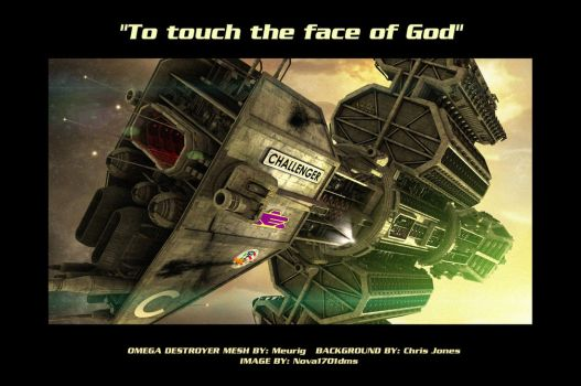 To touch the face of God by Nova1701dms
