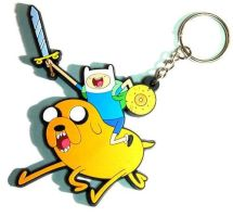Adventure Time key chain by Fanboychum123410