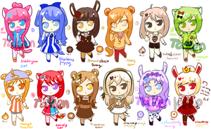 [CLOSED] Ice Cream Buds Batch 2![Paypal/Points] by Operation-NovaCross