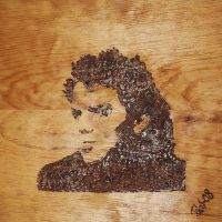 Hayden Christensen in wood 2 by blacksagitar