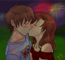 Teentalia: First Kiss. by 1010Amy-Kia