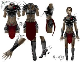 DragonMage Armor Concept by Gizmodian