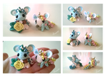 [Open! Auction] Polymer Clay Unicorns by Sarilain
