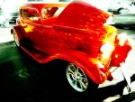Flaming Hot Coupe by LilArtist23