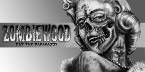 ZOMBIEWOOD: Marilyn Monroe by TheMacRat