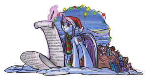 Merry Christmas 2014 by OfficerPony