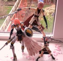 3 Lightning figures , collection part 4 by Lightninglouise