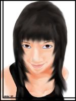 me in drawing by t3nshi