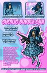 Shoujo Bubble Gun by DragonBeak