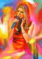 Live the music - Fergie 4 by Amro0