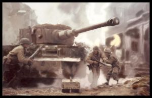 Saving Private Ryan TankAttack by delaronde