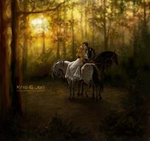 Autumn forest. by jen-and-kris