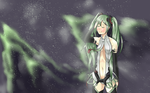 Miku Append by LoveMagicFlower