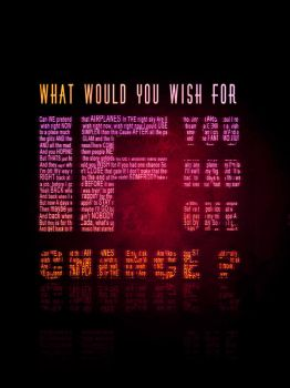 What would you wish for if you had one chance? by pr0str3et