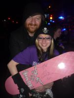 Jess Margera and me by Drivingblind666