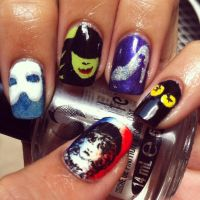 Musicals!! - Nail Art by aleidapinon