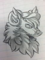 .:FA:. Truxton headshot by Faylenn