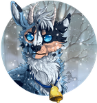 Commish/Gift- Winter Blues by Aminirus