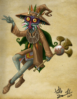 Skull Kid by R2ninjaturtle