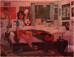 ray's apartment by wick-y