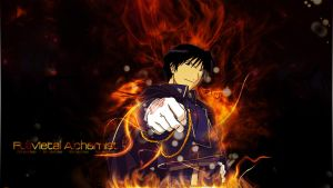 Roy Mustang Wallpaper - FMA by MCnicoxo