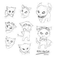 Roll the Cat by FeatherHarp
