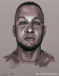 Elliott Hulse Digital Painting by saltytowel