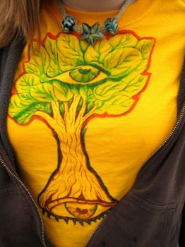 tree tee-shirt by passtheherb