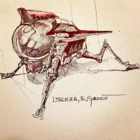 Bug-mech #06 sketch by DrZoidberg96