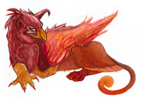 Gryphon by SherrinFord