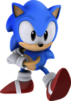 Classic Sonic (Update skill) by itsHelias94