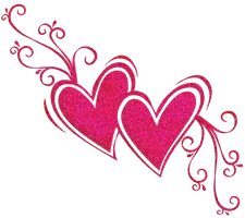 PNG PINK HEART by emmalinepotter