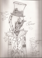 New tulpa: Oktober (Info not complete yet) by Dysfunctional-H0rr0r