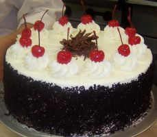 Black Forest Cake by BeautyCanBeDecieving