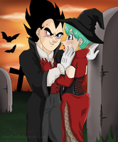 DBZ Halloween by mayabriefs